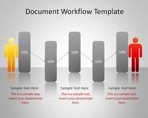 Document Workflow Powerpoint Template Presentation Document Templates