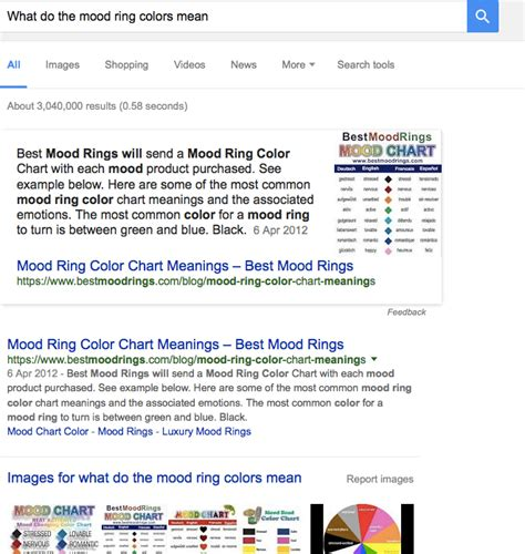 mood ring colors and what they pin mood ring colors and what they image search