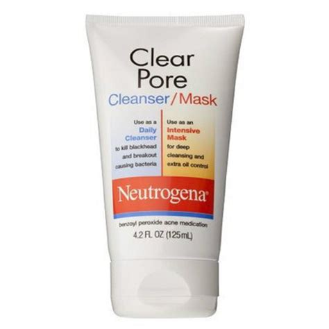 clear pore neutrogena clear pore cleanser mask 4 2 fl oz ebay