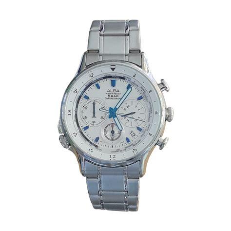 Jam Tangan Alba Chrono Variasi Silver Hitam harga alba 160630 chronograph jam tangan pria silver