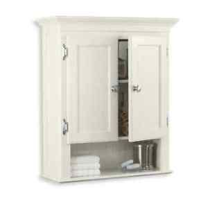 white wood over the toilet cabinet bathroom wall cabinet durable mdf wood nickel accents over