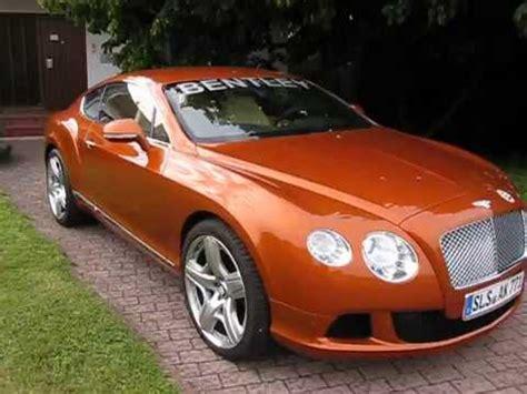 orange bentley 2011 bentley continental gt quot orange quot walkaround
