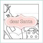 dear santa coloring page printables and paper crafts for kids on pinterest paper