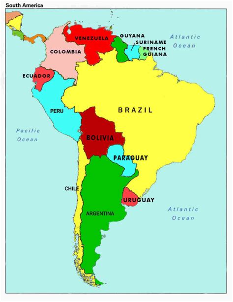 south america map and america news from south africa uruguay and canada