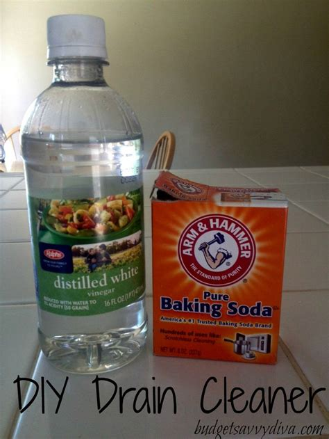 how to clean sink with baking soda pour 3 4 1 cup of baking soda into the drain pour 1 2 cup
