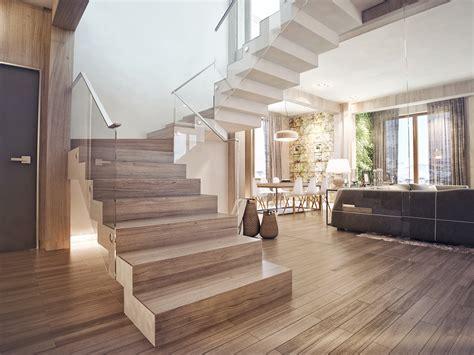28 Model Tangga Rumah Mewah Bertingkat 2018 Terbaru