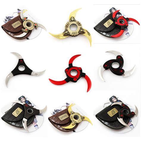 Fidget Spinner Shuriken Hokage Kunai Shuriken Weapon Rotate Foldable Shuriken Toys