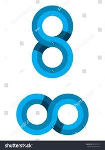 Symbols That Represent Infinity Infinite Vector Illustration Can Represent Symbol Stock