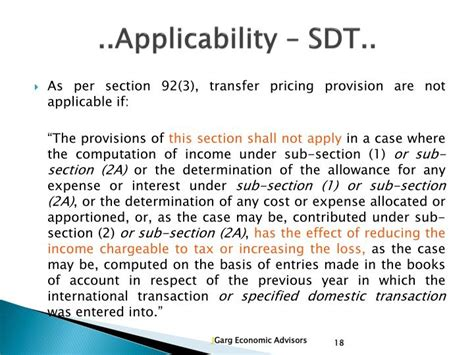 Ppt Domestic Transfer Pricing Powerpoint Presentation