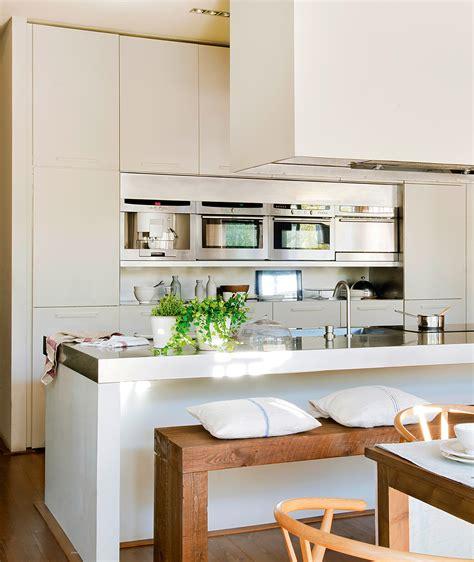 cocinas americanas con salon claves para abrir la cocina al comedor o el sal 243 n y ganar