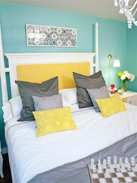 Light Blue And Yellow Bedroom Photo Page Hgtv