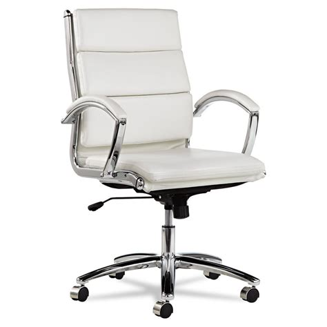white desk chair swivel office chair for comfort