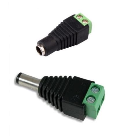 Conecror Dc Dc Power 12v 24v Adapter Connector 1 Pair