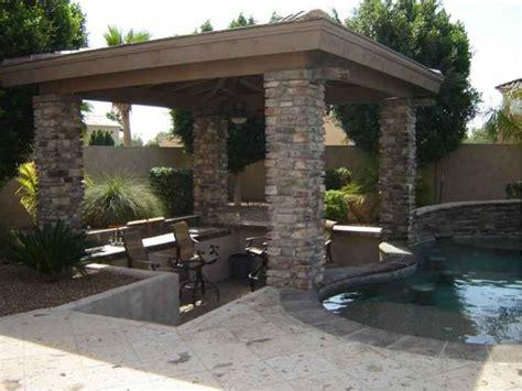 backyard oasis shady stone ramadas in glendale arizona