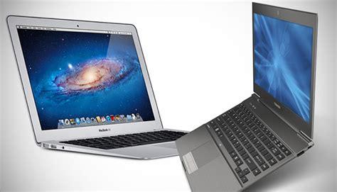 Laptop Apple Keluaran perbandingan ultrabook dan macbook air
