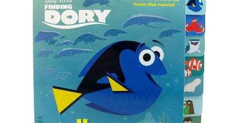 finding dory no 1 at july 4th box office tarzan dan the pixar fan finding dory quot hello dory quot board book