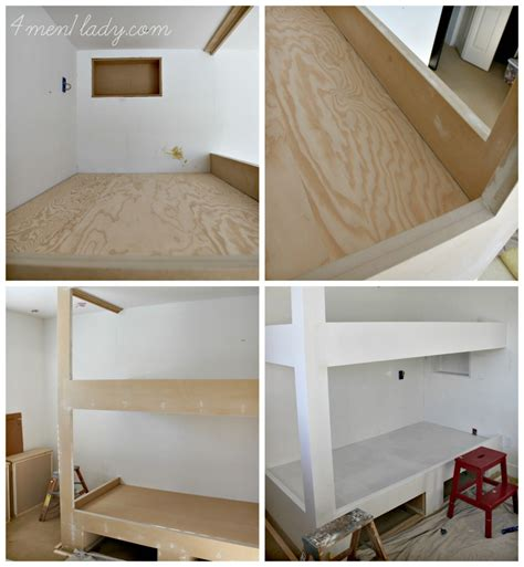 Pictures Of Bunk Beds Built In by Bunk Beds And Bedroom Reveal
