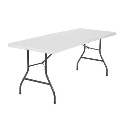 6 Centerfold Table by Cosco 6 Centerfold Table Colors Walmart