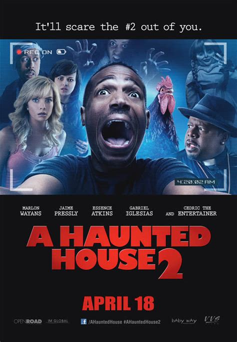 movie about haunted house a haunted house 2 poster
