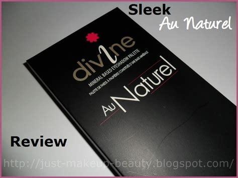 Original Sleek Gloss Me paleta sleek au naturel review swatches