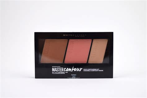 Maybelline Contour Kit resenha maybelline master contour kit cor 20 medium to