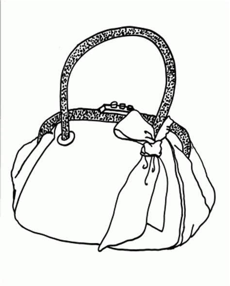 bags coloring pages for free