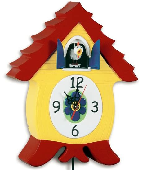 Headsup Cluckcoo Victoria Poultree Chicken Cuckoo Clock