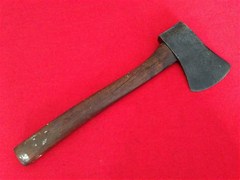 Vintage U S Plumb 1944 Military Wwii Axe Hatchet Antique