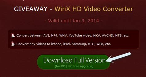 Video Converter Giveaway - digiarty giveaway round 2 winx hd video converter deluxe daves computer tips