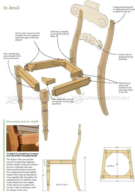 Build Dining Chair Build Dining Chair Woodarchivist