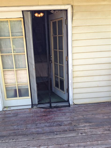 Door Magnetic Screen by Zipper Igottech Magnetic Screen Door Review