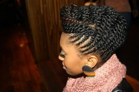 2 strand updos two strand twist updo natural hair pinterest