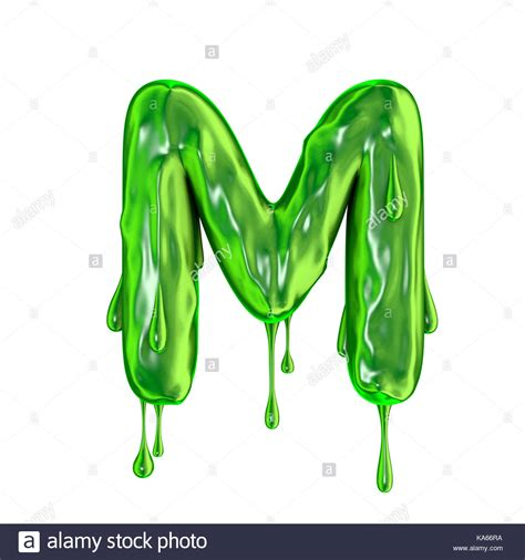 Slime M M oozing paint stock photos oozing paint stock images alamy