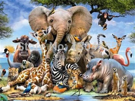 painting of zoo animals popular draw zoo animals buy cheap draw zoo animals lots