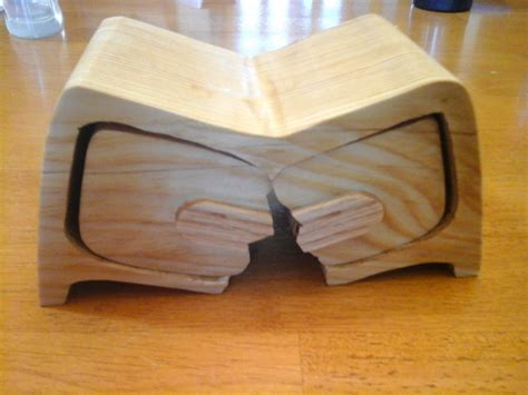 pattern making woodworking quot broken quot bandsaw box 4
