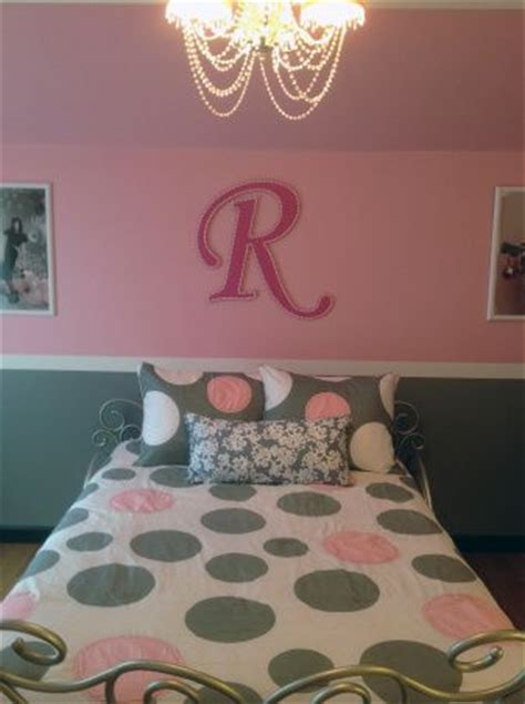 pink and grey girls bedroom pin by amy schulz on kids pinterest