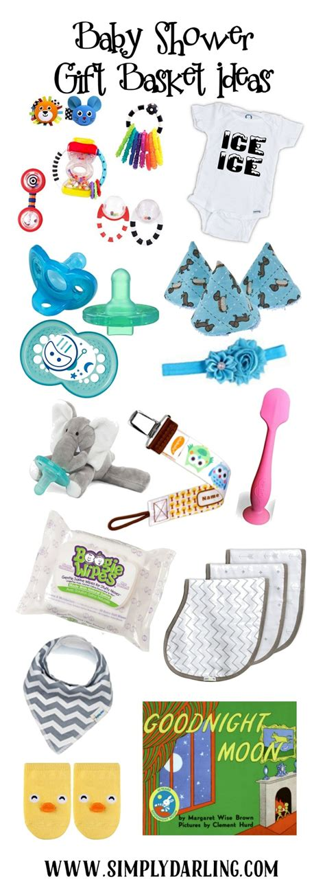 Baby Shower Gift For Who Has Everything by Baby Shower Gift Basket Ideas Simply Darr