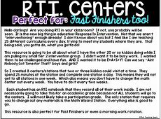 RTI Organization- Perfect for Fast Finishers Too! | That ... Xtramath.org Sign In