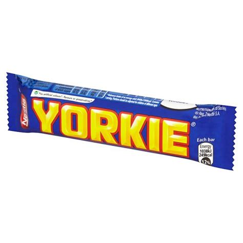 nestle yorkie nestle yorkie milk bar 46g groceries tesco groceries