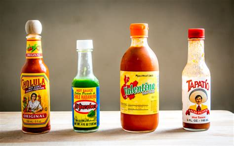 4 mexican hot sauces you should know mexican please