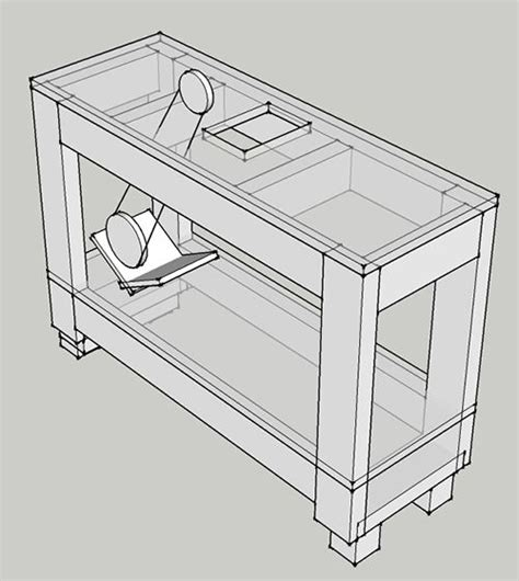 wood jointer stand plans  diyplans jointer wood