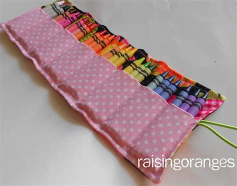 pattern for crayon roll up crayon roll kids crafts pinterest