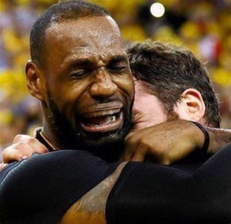 Lebron James Crying Meme - crying lebron know your meme