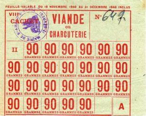 Tickets De Rationnement by Pour Des Tickets De Rationnement De Viande Agoravox Le