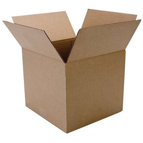 duck brand 12 quot x 12 quot x 10 5 quot brown corrugated shipping box
