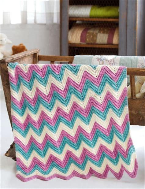zig zag baby blanket by knit culture studio free knitted caron zig zag baby blanket crochet pattern yarnspirations