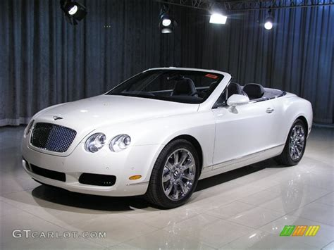 ghost bentley 2008 ghost white bentley continental gtc 149989