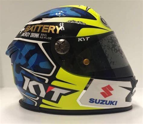 Helm Kyt 7 helm kyt aleix espargaro keren selaras dengan livery motor dan warna racingsuitnya