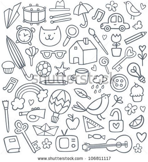 kid doodle free doodles stock photos images pictures