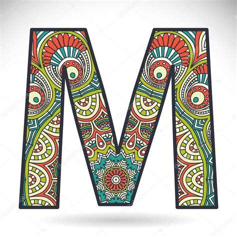 Letter A Photos vintage alphabet letter m stock vector 59255429